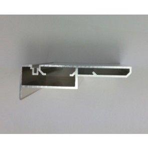 Verticale profielen - dubbele beplating tot maximaal 32mm dik per zijde - deurhoogte max 2715