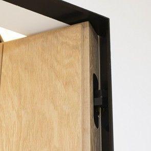 Xinnix X240 maatwerk kozijnset zwart - deurhoogte max 2100mm