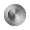 Ronde schuifdeurkom - RVS geborsteld - 40mm diameter