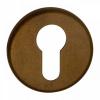 Cilinderrozet rond - mat brons afgewerkt - 51mm diameter
