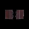 Deurstoppers - roest - 4 cm