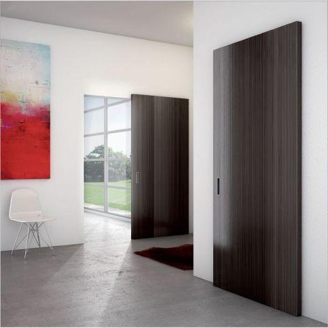 Onzichtbaar schuifdeursysteem voor houten schuifdeuren | ironw@re