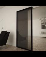 Onzichtbaar schuifdeursysteem voor glazen binnendeuren | Ironw@re
