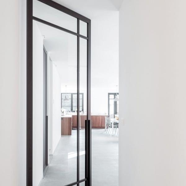 deur taatsdeur staal glasvakken