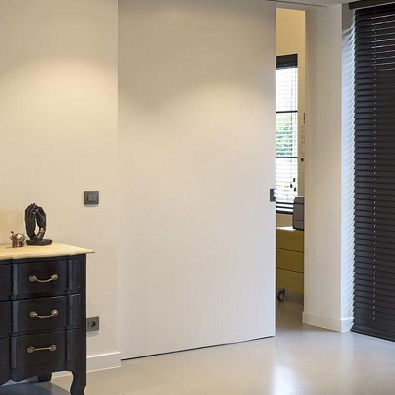 Schuifdeur in de muur xinnix x5 ironware deur