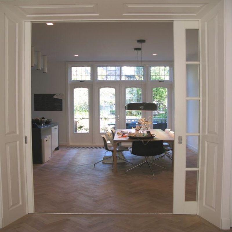 en suite deuren onderlopend keuken