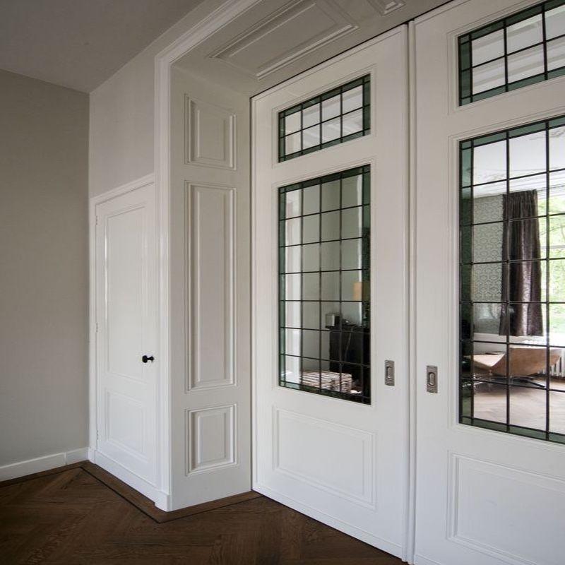 schuifdeur dubbel onderlopend woonkamer klassiek