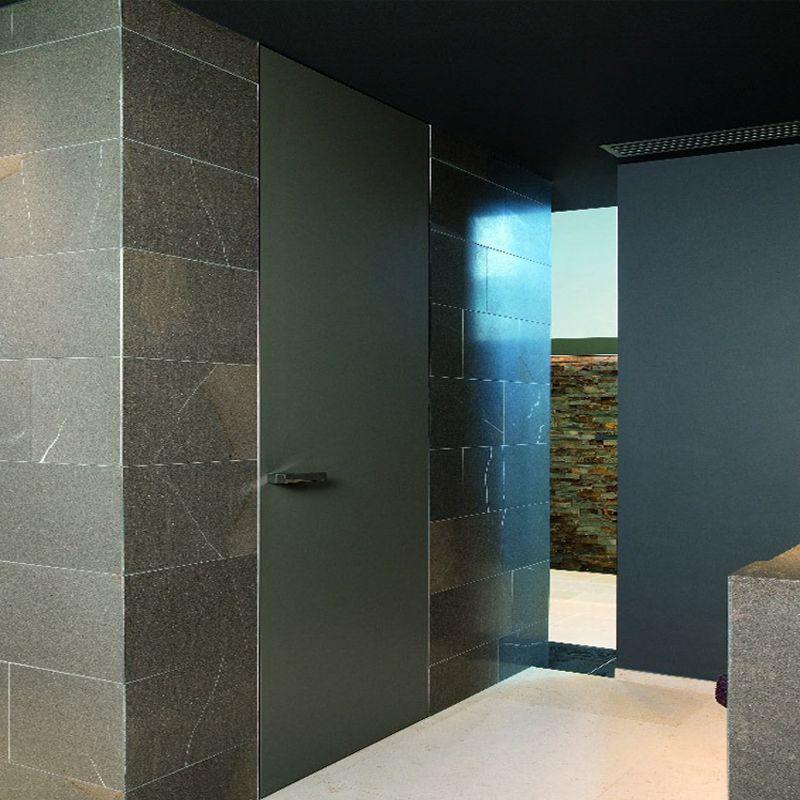 Badkamerdeur deur in badkamer