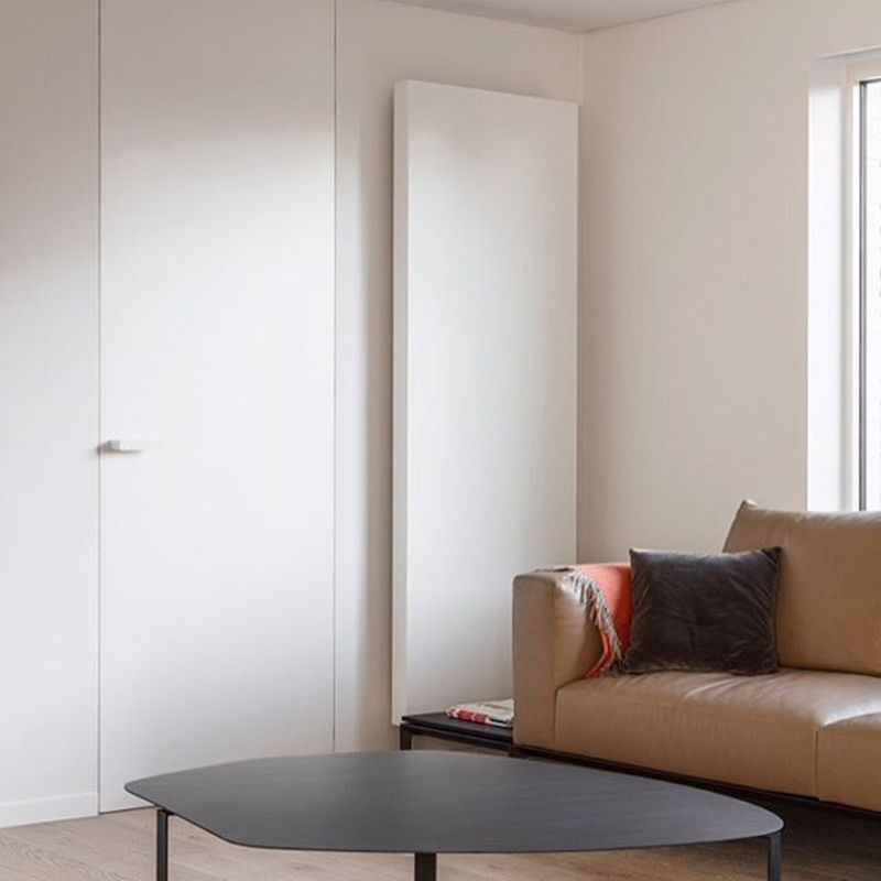 Deur minimalistisch plafondhoog