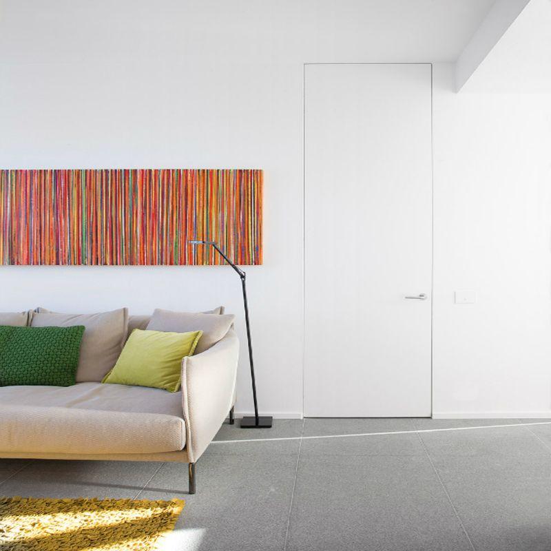 Deur woonkamer kunst
