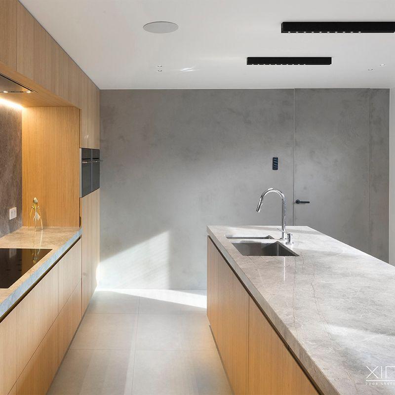 Keukendeur niet zichtbaredeur