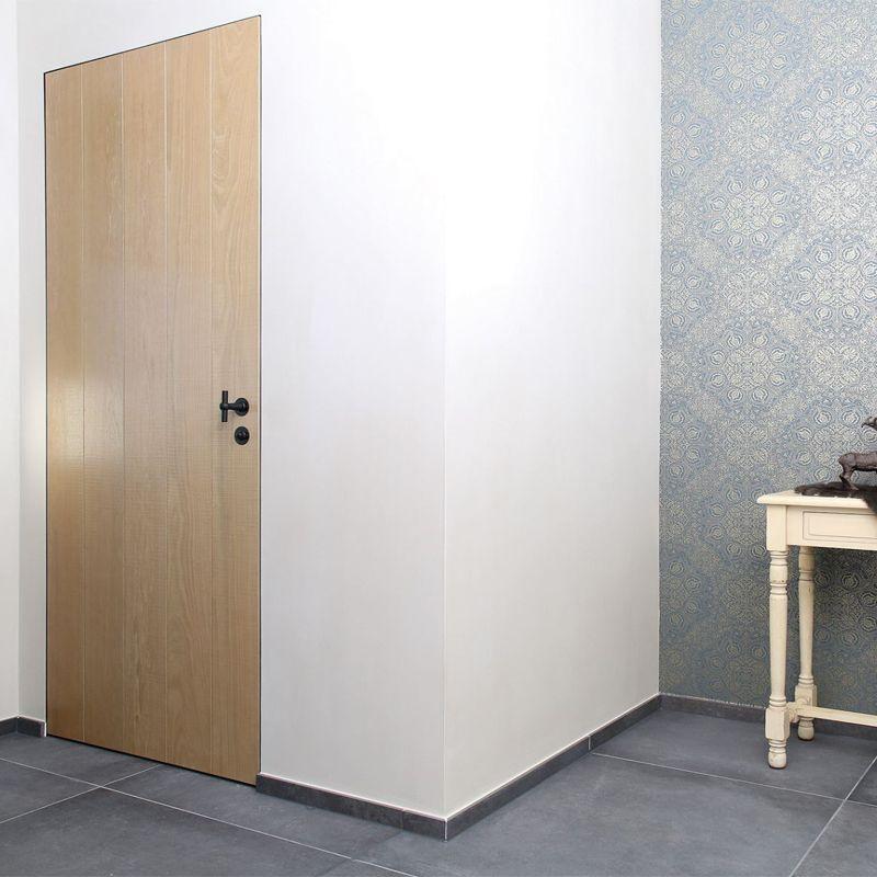 Minimalistische deur landelijk