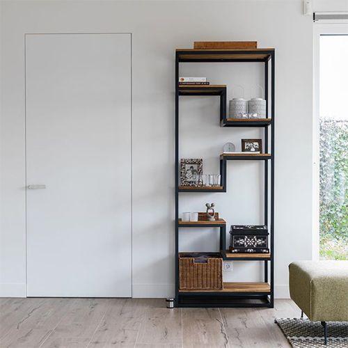 xinnix deur in woonkamer industrieel