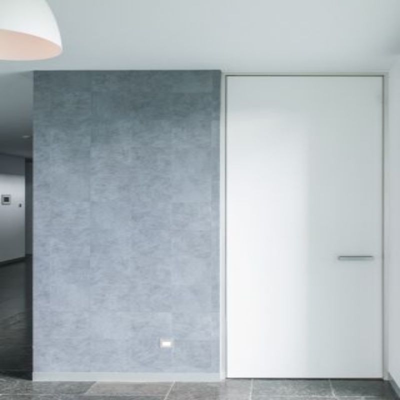 deur wit modern gang