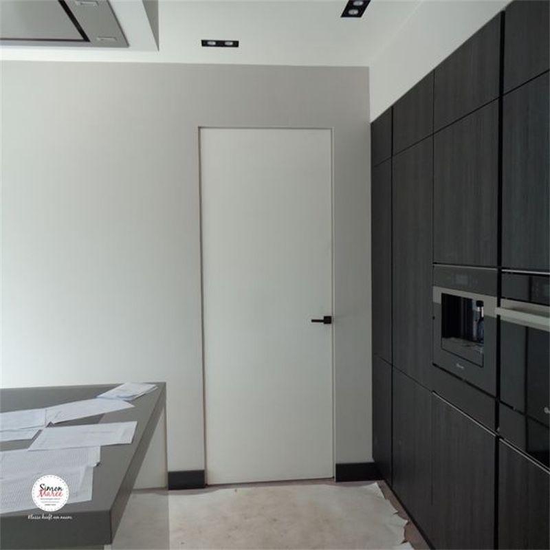 moderne deur keuken modern