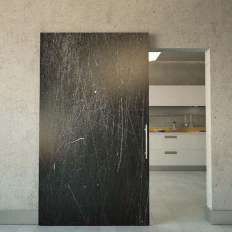 beton look schuifdeur onzichtbaar