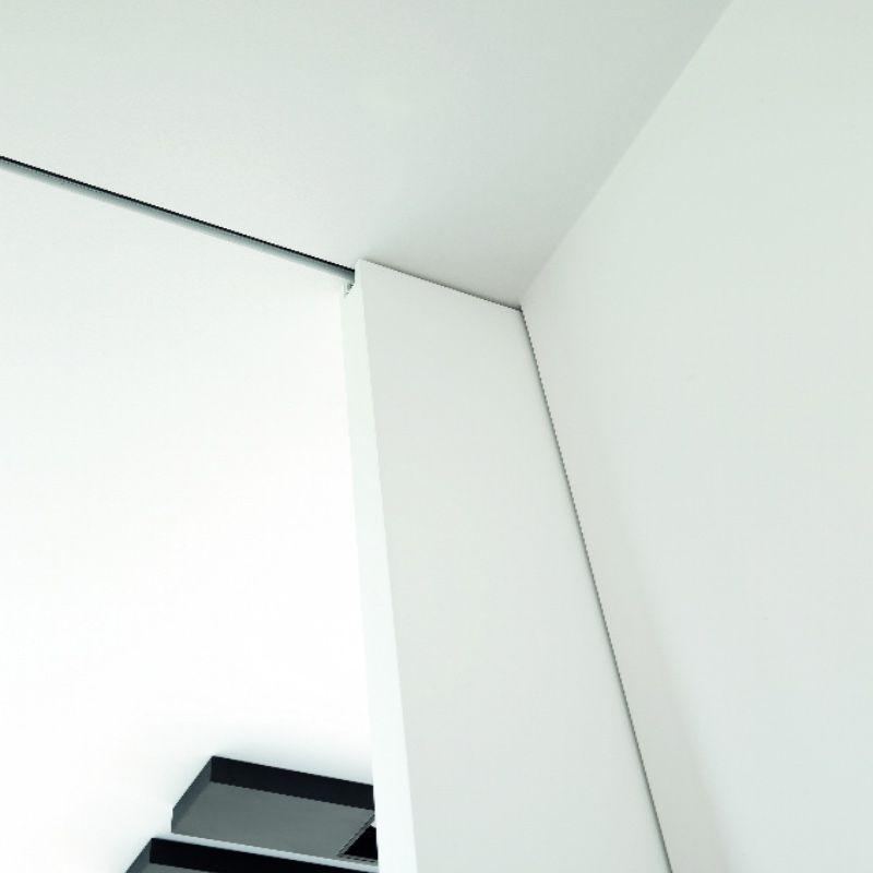 detail plafond schuifdeur