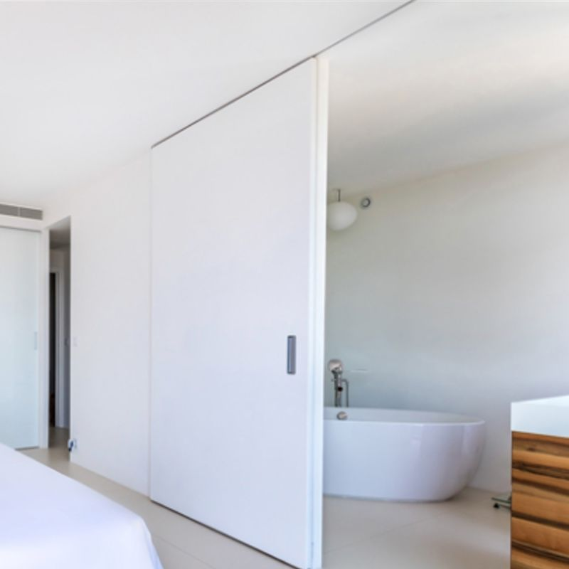 schuifdeur badkamer plafond slaapkamer