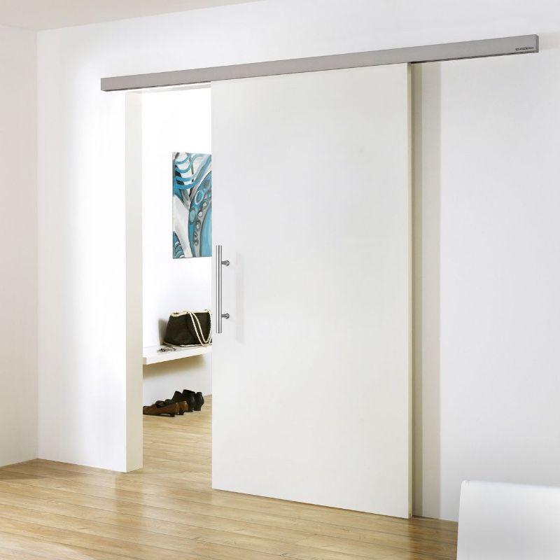 schuifdeur modern hangend voor wand