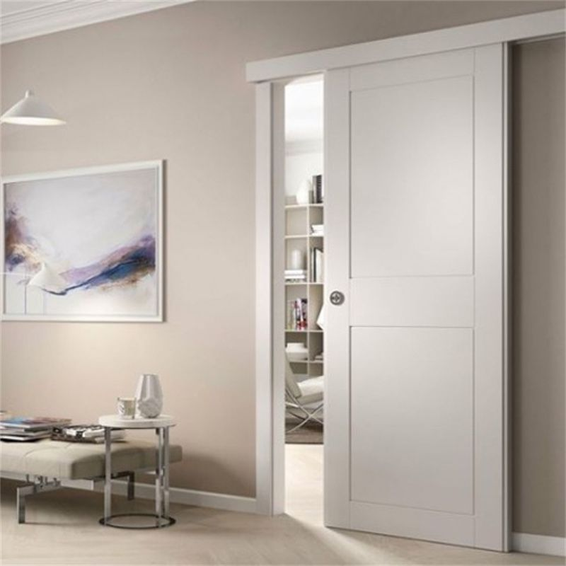 schuifdeur panelen wit voor wand
