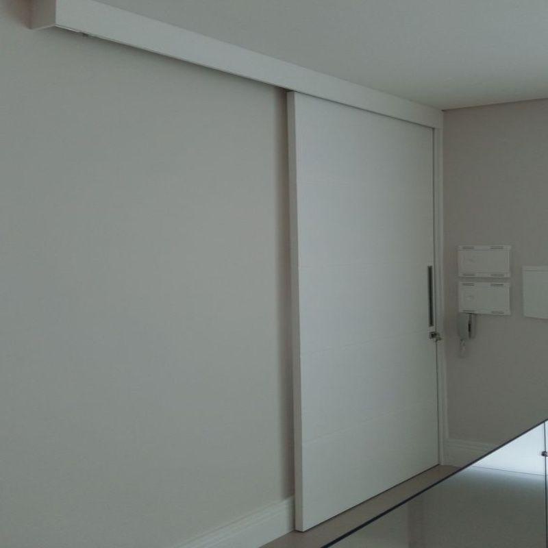 schuifdeur voor wand wit