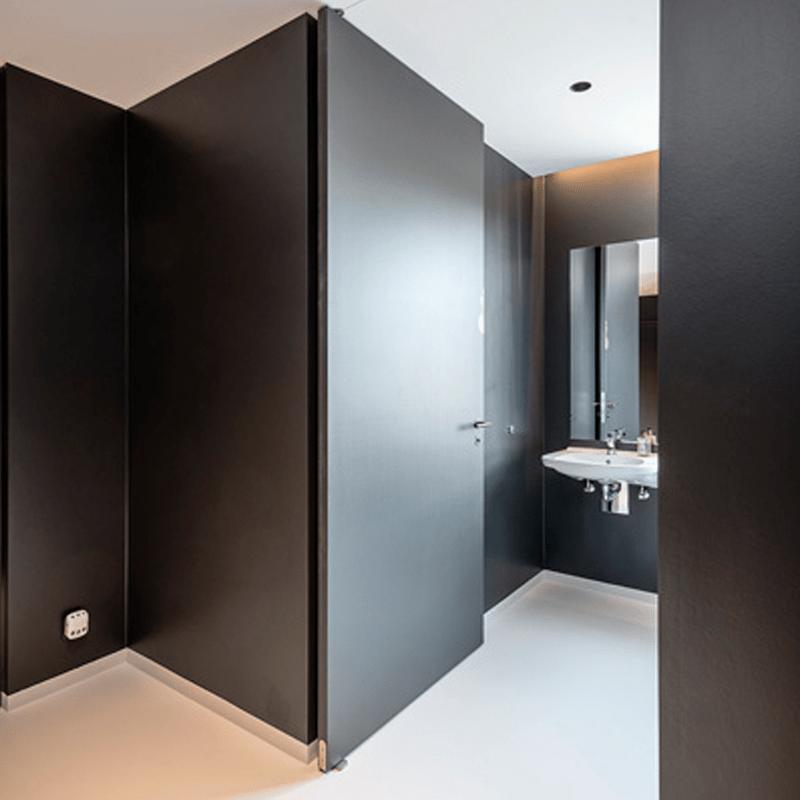 deur taatsscharnier badkamer