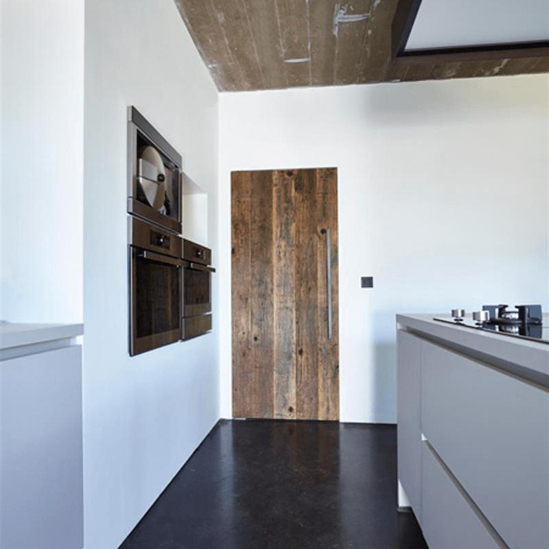 taatsdeur houtfineer keuken