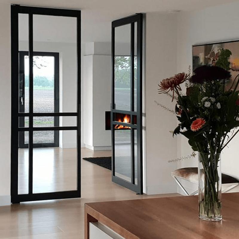 taatsdeur keuken naar woonkamer