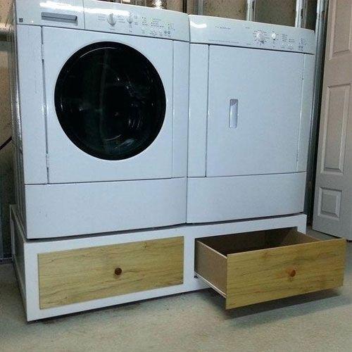 Lade Onder Wasmachine Maken